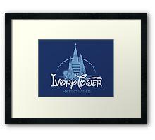 Ivory Tower Framed Print