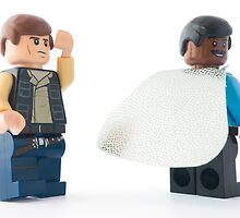 Hey Han, check out my sweet new space cape by Tom Milton