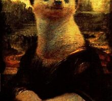 Meerkat/Mona Lisa by Lutubert
