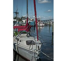 Dockside  Photographic Print