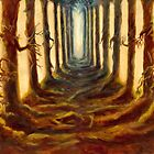 Forest Path by Laura Cameron