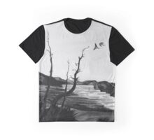 tree swallows in yellowstone Graphic T-Shirt