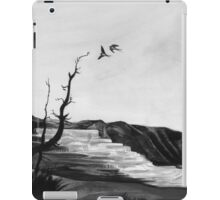 tree swallows in yellowstone iPad Case/Skin