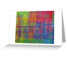 Colorful 13 Greeting Card