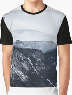 Looking towards Mt. Lafayette from Cannon Mountain - Franconia, NH 01-11-15 Graphic T-Shirt