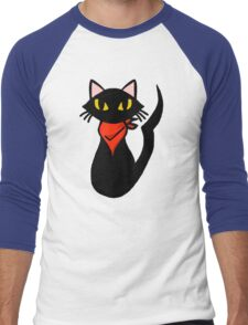 Cat Sissel Men's Baseball ¾ T-Shirt