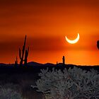 Partial Annular Eclipse from Cave Creek, Arizona 2012 - I by HDTaylor