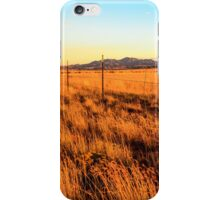 Barbed Wire Fence New Mexico iPhone Case/Skin