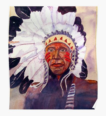 CHIEF RED DOG Poster