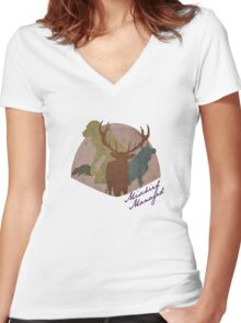 The Marauders - Mischief Managed Women's Fitted V-Neck T-Shirt