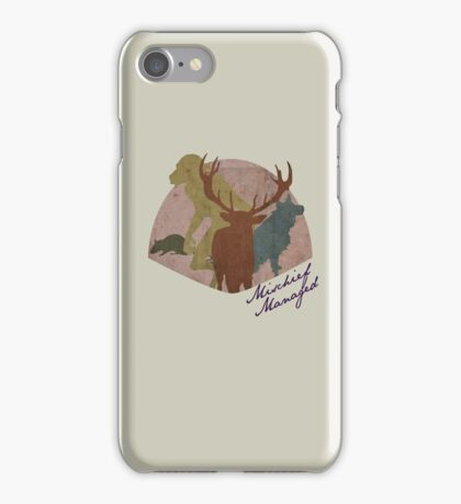 The Marauders - Mischief Managed iPhone Case/Skin