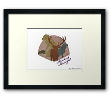 The Marauders - Mischief Managed Framed Print