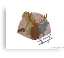 The Marauders - Mischief Managed Metal Print