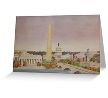 Autumn in Washington D.C. Greeting Card
