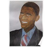 Obama at Inauguration Poster
