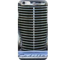 Black Cadillac Grill and Headlights iPhone Case/Skin