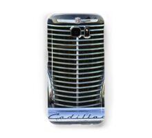 Black Cadillac Grill and Headlights Samsung Galaxy Case/Skin