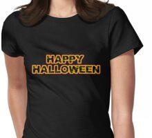 happy Halloween October 31 Womens Fitted T-Shirt