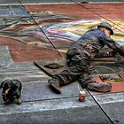 Street Artist by latitude54photo