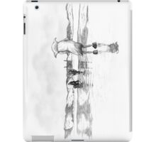 """Death of a Free Elf"" - Dobby in Deathly Hallows iPad Case/Skin"