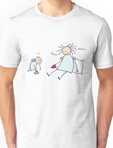 Moms are not angels! Unisex T-Shirt