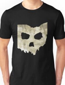 SKULLHIO - Ohio Shaped Skull Unisex T-Shirt