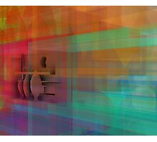 Colorful perspective Photographic Print