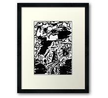 024 Framed Print