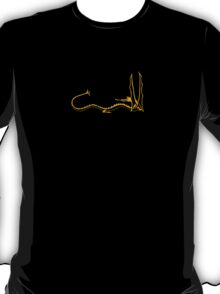 Smaug the Dragon - Gold T-Shirt