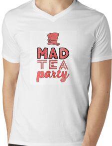Alice in Wonderland: A Mad Tea Party Mens V-Neck T-Shirt