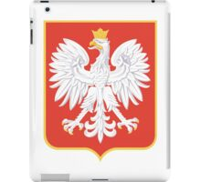 Coat of Arms of the Second Polish Republic, 1927-1939 iPad Case/Skin