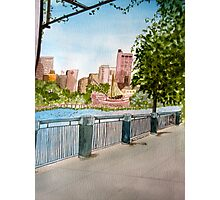 Riverbench View Photographic Print