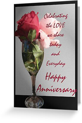 Anniversary card 1 by Heather Crough