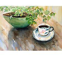 tea set Photographic Print