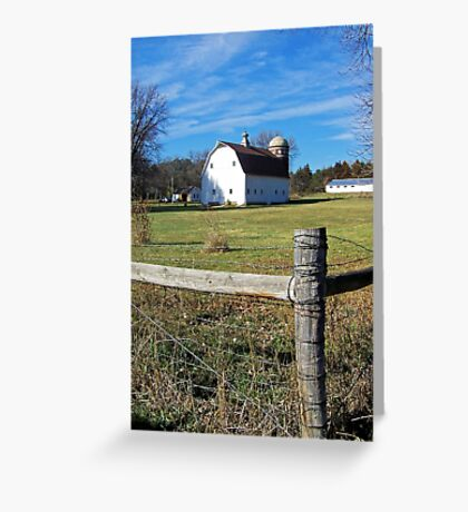 Country Acreage Greeting Card