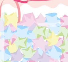 Kawaii Star Candy Jar Sticker