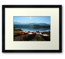 Sun shines on the righteous Framed Print