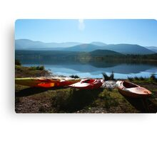 Sun shines on the righteous Canvas Print