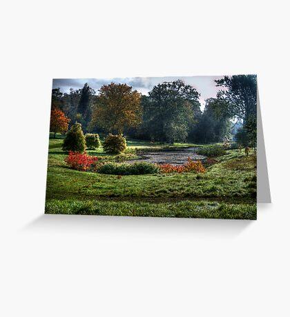 Autumn Morn. Greeting Card