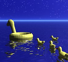 Rubber Duckies by Christopher Lynch