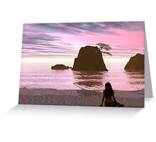 Another Sunset Greeting Card