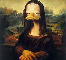 Duck/Mona Lisa by Lutubert