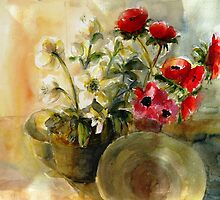 Red Anemones by halinak