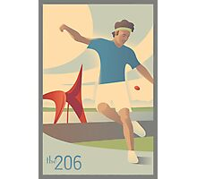 Footbag at Olympic Sculpture Park Photographic Print