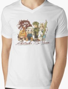 AnY Dragons Mens V-Neck T-Shirt