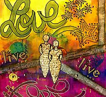 Living Life Hopefully with Love by © Angela L Walker