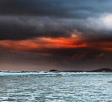 Day Break South Beach Kingscliff by Ron Finkel