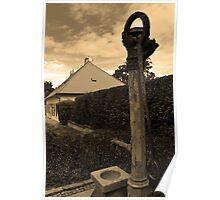 Vysehrad Water Pump Poster
