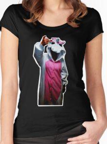 UNICORN (F**K) Women's Fitted Scoop T-Shirt