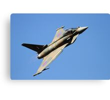 GiNA RAF Eurofighter Typhoon Sychro Display Canvas Print